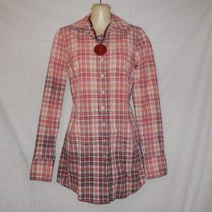Free People Long Sleeve Tunic Top Shirt Dress H510